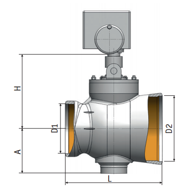 Regulating Rotary Valve 6с-12-4-1Э| Pictures