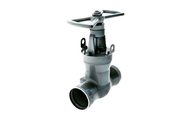 Gate valve 2c-25-2h on medium parameters Picture