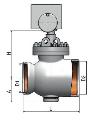 Regulating Rotary Valve 6с-12-4Э| Pictures