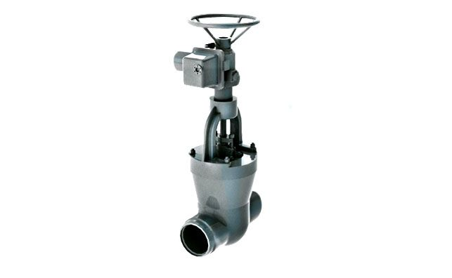 Gate valve on a high pressure 1120-100-э Picture