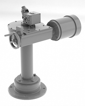 Pedestal actuator амк-еа-kw-80 for pipeline valve picture